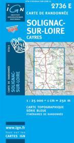 Solignac-sur-Loire - Couverture - Format classique