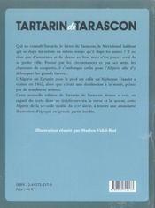 Tartarin de Tarascon - 4ème de couverture - Format classique