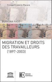 Migration et droits des travailleurs (1897-2003) - Couverture - Format classique