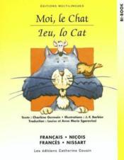 Moi, Le Chat - Fr/nicois - Couverture - Format classique