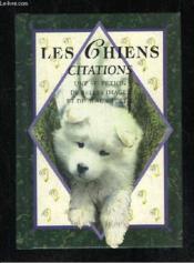 Les chiens citations - Couverture - Format classique
