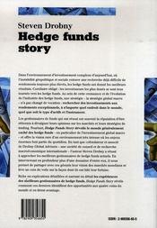 Hedge funds story - 4ème de couverture - Format classique