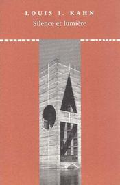 Silence et lumière - Intérieur - Format classique