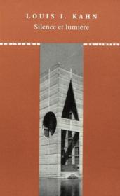 Silence et lumière - Couverture - Format classique