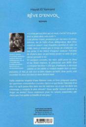 Rêve d'envol - 4ème de couverture - Format classique
