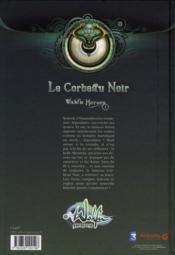 Le corbeau noir ; coffret collector - 4ème de couverture - Format classique