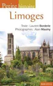 Petite histoire de Limoges - Couverture - Format classique