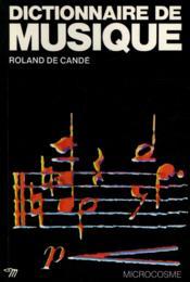 Dictionnaire De Musique - Couverture - Format classique