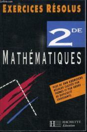 Mathematiques 2° - Couverture - Format classique