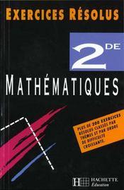 Mathematiques 2° - Intérieur - Format classique