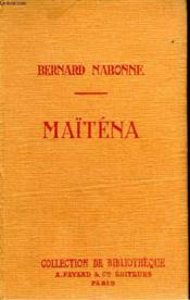Maitena. Collection De Bibliotheque N° 28. - Couverture - Format classique