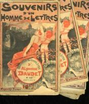Lot De 4 Fascicules. Souvenirs D'Un Homme De Lettres. Oeuvres Completes D'Alphonse Daudet. N° 143 Au N°146. - Couverture - Format classique