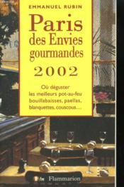 Paris Des Envies Gourmandes 2002 - Couverture - Format classique