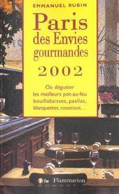 Paris Des Envies Gourmandes 2002 - Intérieur - Format classique