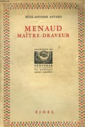 Menaud. Maitre Draveur. - Couverture - Format classique
