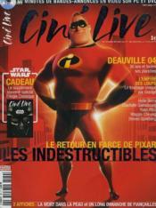 CINE LIVE - N° 82 - Le retour en farce de Pixar, Les indestructibles - Couverture - Format classique