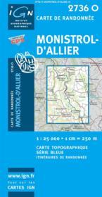 Monistrol-d'Allier - Couverture - Format classique