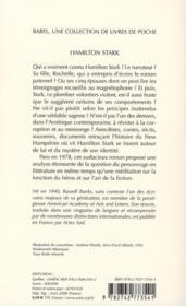 Hamilton Stark - 4ème de couverture - Format classique