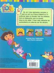 Dora sauve le prince - 4ème de couverture - Format classique