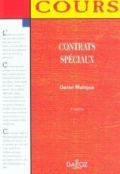 Contrats Speciaux ; 3e Edition - Couverture - Format classique