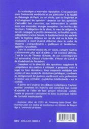 L'autorité des maîtres ; scolastique, normes et société au XIII siècle - Couverture - Format classique