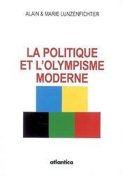La politique et l'olympisme moderne - Intérieur - Format classique