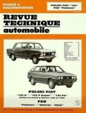 Rta 345.2 fso polski fiat 125 - fso polonez (71/87) - Couverture - Format classique