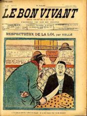 Le bon vivant n°314 - Respectueux de la loi - Couverture - Format classique