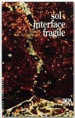 Sol ; interface fragile - Couverture - Format classique