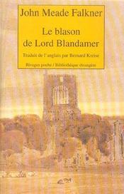 Le Blason De Lord Blandamer - Intérieur - Format classique