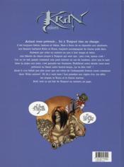 Kran univers t.1 ; coup de mou chez les durs - 4ème de couverture - Format classique