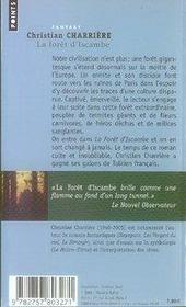 La forêt d'iscambe - 4ème de couverture - Format classique