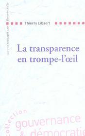 La transparence en trompe-l'oeil - Intérieur - Format classique