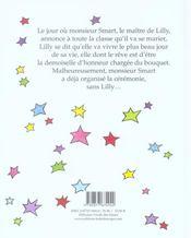 Le plus beau jour de la vie de lilly - 4ème de couverture - Format classique