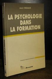 La psychologie dans la formation - Couverture - Format classique