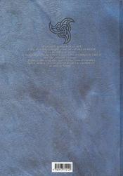 Les larmes du démon t.1 ; marie - 4ème de couverture - Format classique