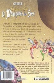 La ménopause des fées ; le crépuscule des dieux - 4ème de couverture - Format classique