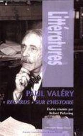 Paul Valéry ; regards sur l'histoire - Couverture - Format classique
