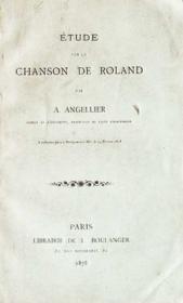Étude sur la Chanson de Roland - Couverture - Format classique