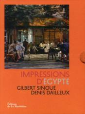 Impressions d'Egypte - Couverture - Format classique