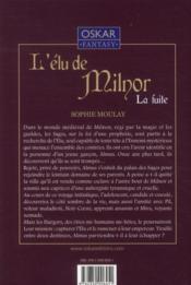 L'élu de Milnor t.1 ; la fuite - 4ème de couverture - Format classique