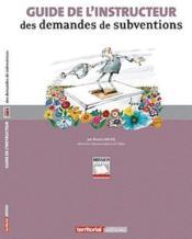 Guide de l'instructeur des demandes de subventions - Couverture - Format classique