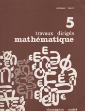 Mathématique - Couverture - Format classique