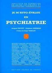 Je M'Auto-Value En Psychiatrie - Intérieur - Format classique