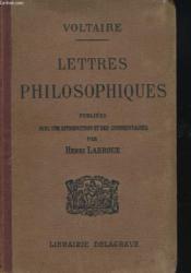 Lettres Philosophiques - Couverture - Format classique