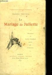 Le Mariage De Juliette - Couverture - Format classique