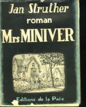 Mrs MINIVER - Couverture - Format classique
