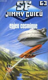 Enjeu Cosmique - Couverture - Format classique