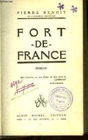 Fort De France - Couverture - Format classique