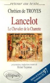 Lancelot ou le chevalier de la charrette - Couverture - Format classique